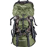 WASING 55L Internal Frame Backpack Hiking Backpacking Packs for Outdoor Hiking Travel Climbing