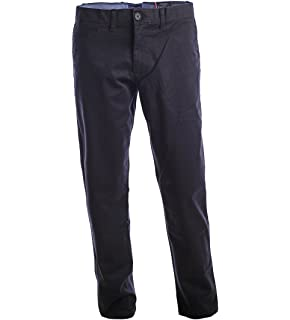 classic styles buy sale new style Tommy Hilfiger Mens Slim Fit Flat Front Chino at Amazon Men's ...