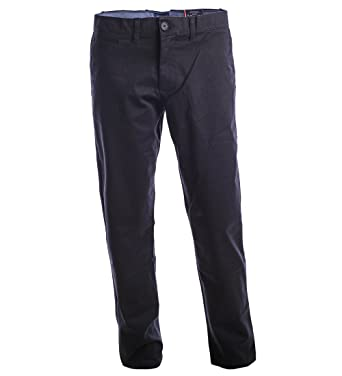 e569582d0b1 Tommy Hilfiger Men s Chino Pants Slim Fit at Amazon Men s Clothing ...
