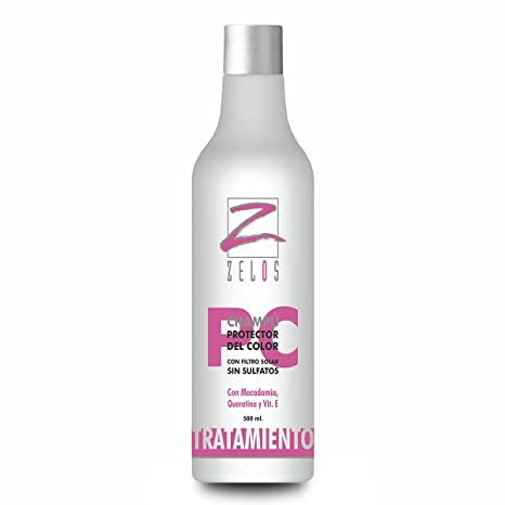 Champú Cabellos Teñidos Profesional Protector Del Color 500 ml - Sin Sulfatos ni Parabenos - Con
