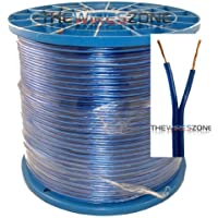Blue 16 Gauge 1000 Feet Speaker Wire for Home/Car Audio