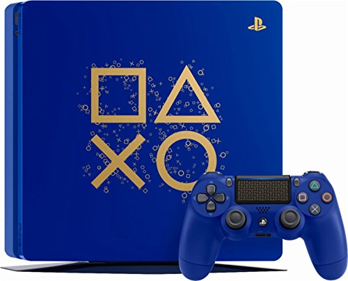 PlayStation 4 1TB Limited Edition Days of Play Console Bundle – Blue