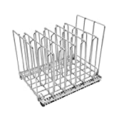Cooking Rack,JDgoods Stainless Steel Cooking Rack Collapsible Sous Vide Rack Vacuum Pouch Separator