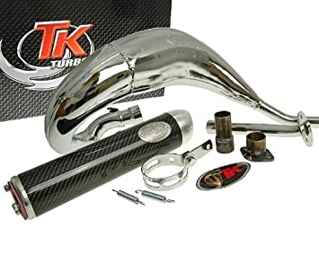 Turbo de escape Kit bufanda Carreras 80 para motor Hispania Furia: Amazon.es: Coche y moto