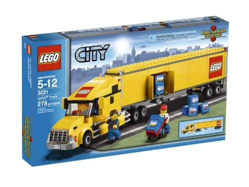 lego city semi truck - 1