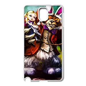 Generic for Samsung Galaxy Note 3 Cell Phone Case White Annie Custom HKADSGHGO2812