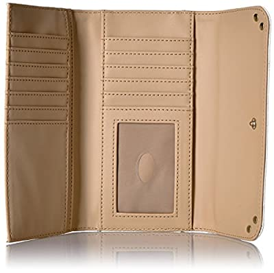 GUESS Trylee Slim Clutch - Stone Wallet