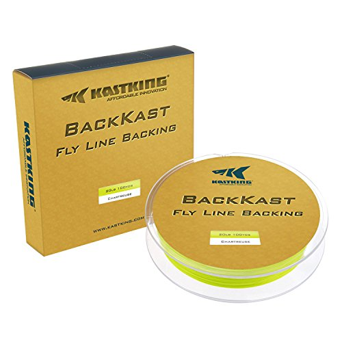 (KastKing BackKast Fly Fishing Line Backing Line - 8 Strand Braided Fishing Line - Superior Knot Strength - Low Stretch - Thin Diameter for Saltwater or Freshwater)