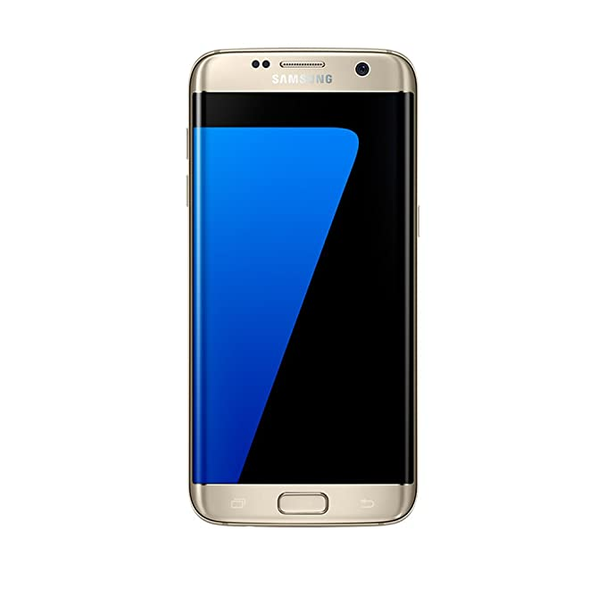 Samsung Galaxy S7 Edge SM G935FZDUINS  Gold Platinum, 32 GB  Smartphones   Basic Mobiles