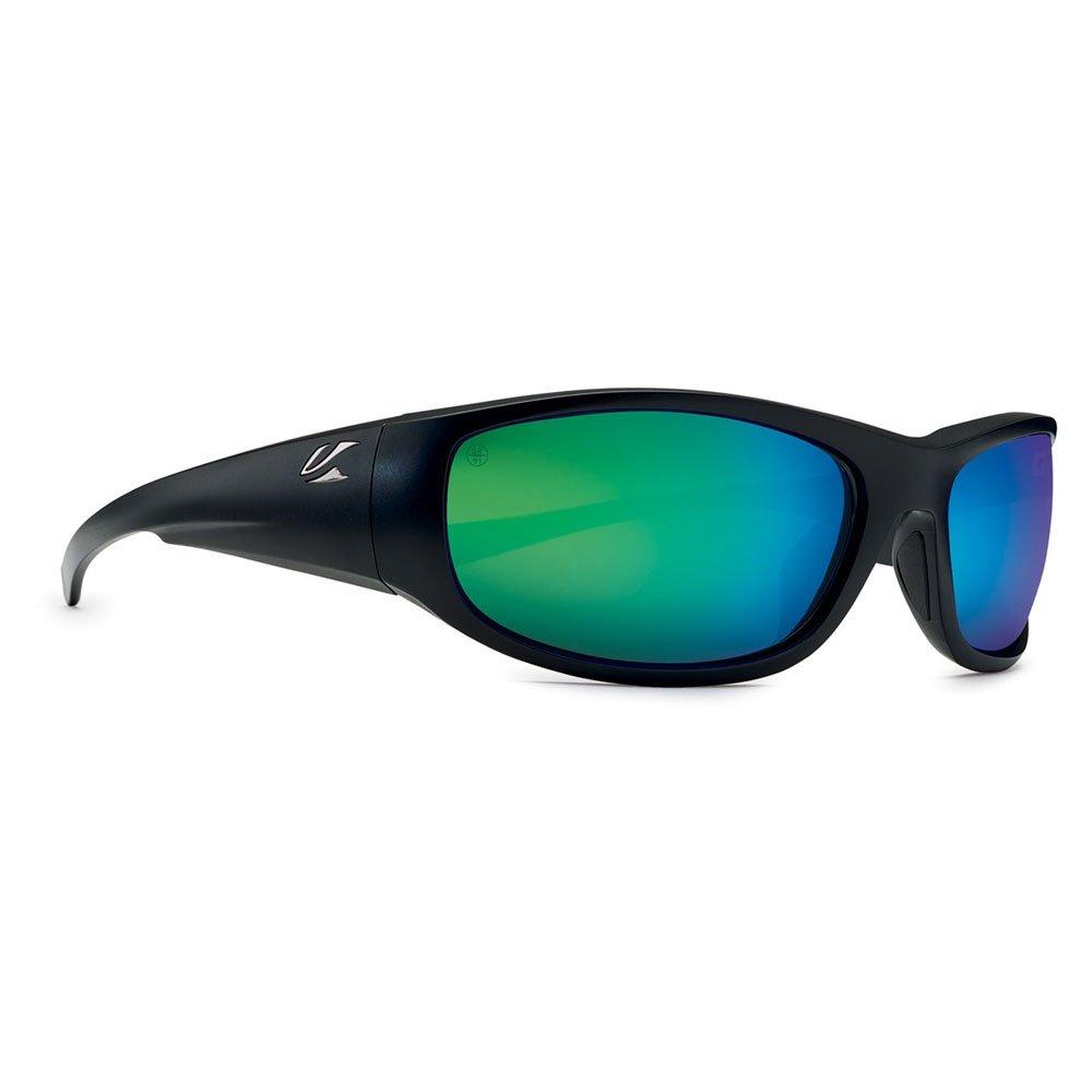 【KAENON/ケーノン】CAPITOLA キャピトラ 大人用 偏光レンズ 偏光サングラス スポーツサングラス  MatteBlack(B12グリーンミラー) B079LYQY3D