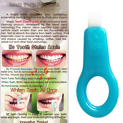 ROKOO Oral Hygeine Tooth Cleaning Pen esponja Quitamanchas Blanqueamiento Dental Kit dental: Amazon.es: Belleza