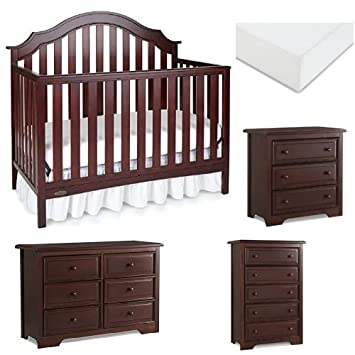 Prime Amazon Com Graco Addison Convertible Crib Nursery Set Download Free Architecture Designs Jebrpmadebymaigaardcom