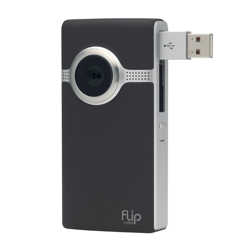 Amazon.com : Flip UltraHD Video Camera - Black, 8 GB, 2 Hours (3rd  Generation) : Camcorders : Camera & Photo