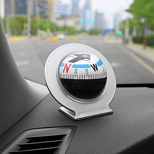 VT BigHome Vehicle Car Navigation Compass Ball Decoration Ornaments Auto Easy Read Driving Guide Compass Car Accessories