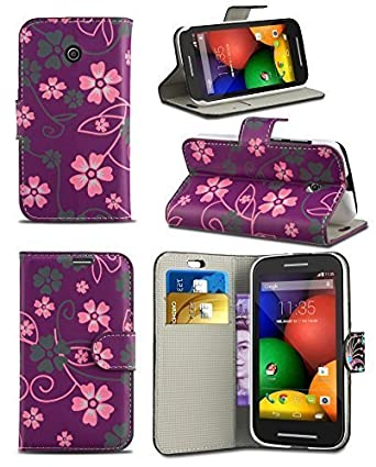 Stylish Pattern Modern Print Design Wallet Flip Case Cover With Integrated Stand For Vodafone Smart 4