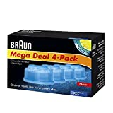 Braun Shaver Clean And Renew - Braun Clean and Renew, Cartridge Cleaning Solution, 4 Pack