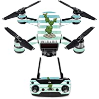Skin for DJI Spark Mini Drone Combo - Happy Cactus| MightySkins Protective, Durable, and Unique Vinyl Decal wrap cover | Easy To Apply, Remove, and Change Styles | Made in the USA
