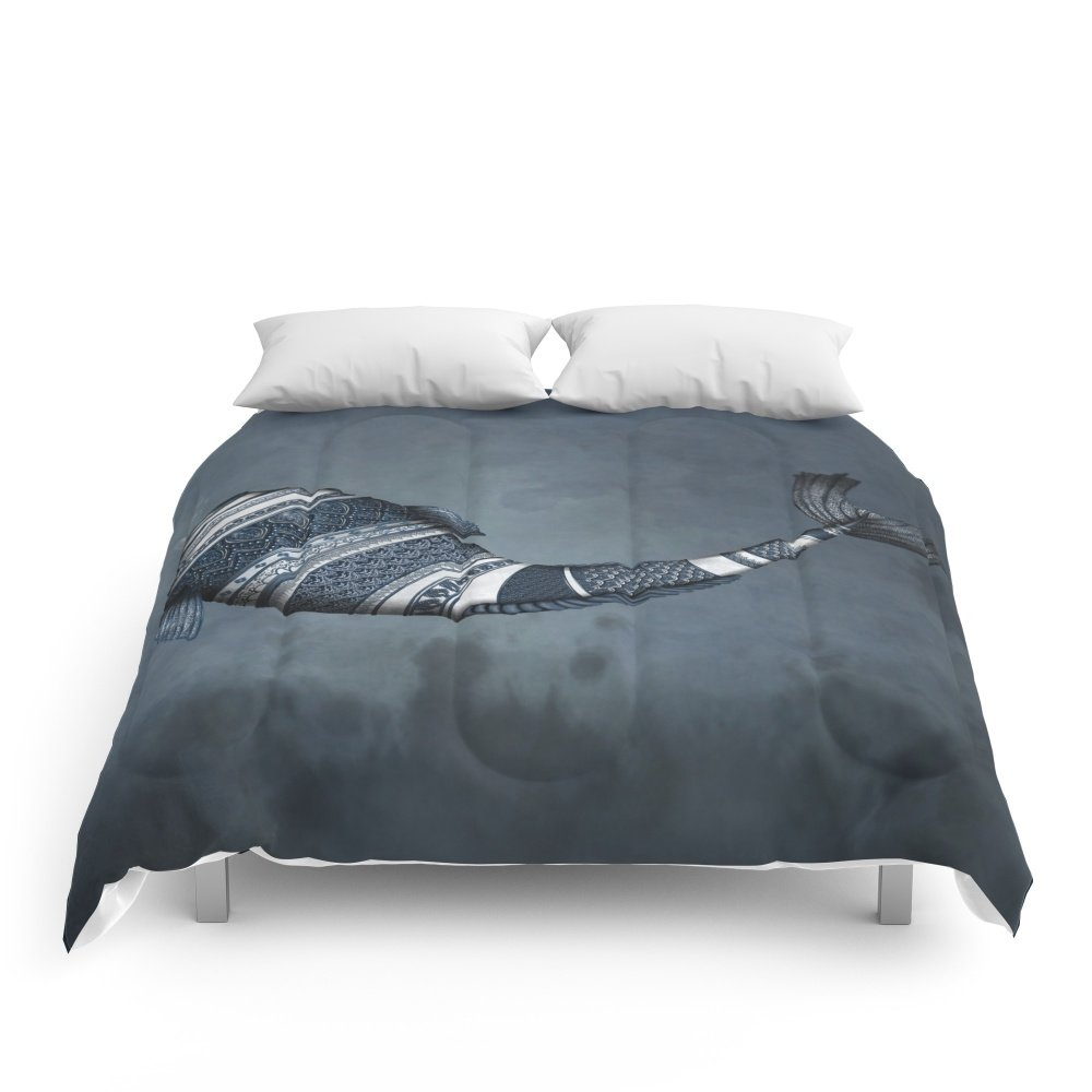 Society6 Poisson Thai Comforters King: 104'' x 88'' by Society6