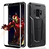Samsung Galaxy S9+ Plus Case - Newliton Upgrade Defender Case with Built-in Screen Protector Shockproof & Impact Resistant Heavy Duty Cover Case for Samsung Galaxy S9 Plus (2018 Release)