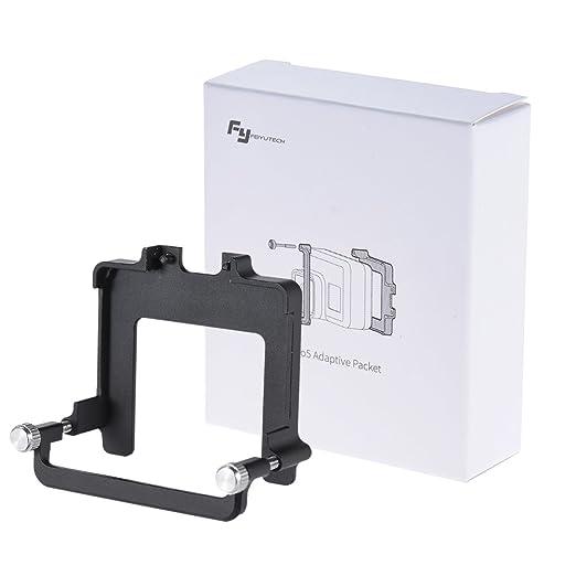 2 opinioni per FeiyuTech fotocamera Montaggio Kit Clip Montare Piatto Adattatore Connettore /