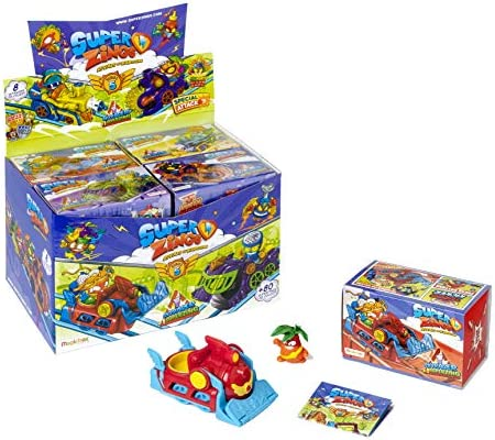 Superzings-Série 5-Display de 8 skyracers véhicules avec figurines Ensemble
