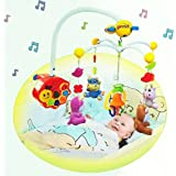 Ginzick Infrared Rc Remote Control Sweet Dreams Baby Mobile (plush dolls)