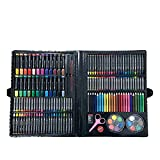 Watercolor Pen Set Stationery Gift Box Painting Set 168 Birthday Gift (Color : Black)