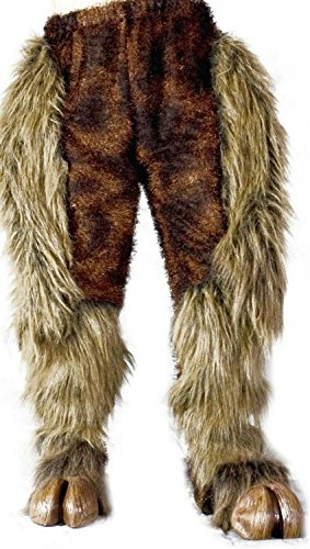 Zagone Studios Hairy Beast Legs Costume Bottoms - Brown -