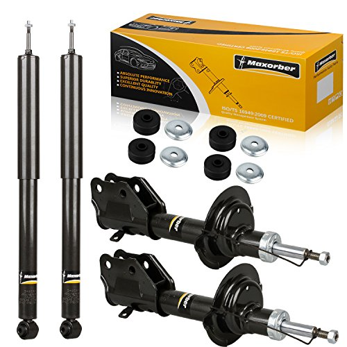 Maxorber Full Set Shocks Absorber Compatible with Ford Edge 2007-2009