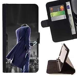 Momo Phone Case / Flip Funda de Cuero Case Cover - Joker City;;;;;;;; - HTC Desire 820