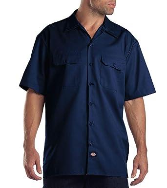 836db8f8 Dickies Men's Short Sleeve Work Shirt at Amazon Men's Clothing store: