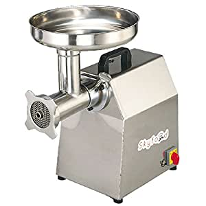 Countertop Meat Grinder w/ Forward & Reverse Switch, Stainless