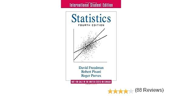 Amazon.com: Statistics (Fourth International Student Edition ...