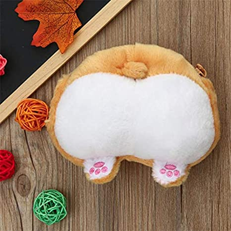 Amazon.com: Cat Ass Egg and Egg Purse, Cute Cat Butt Tail Plush Coin Purse Change Purse Bag (Yellow): Health & Personal Care