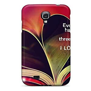For UkZrAGW8157NoFbG I Love You Protective Case Cover Skin/galaxy S4 Case Cover