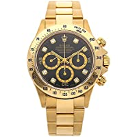 Rolex Daytona Mechanical (Automatic) Black Dial Mens Watch 16528 (Certified Pre-Owned)