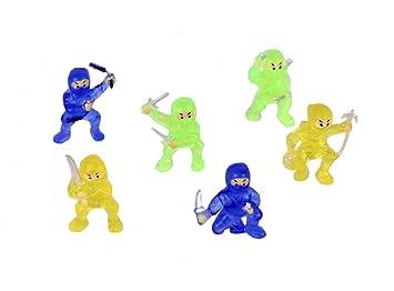Paquete de 12 estatuillas Mini Ninja, rellenos / rellenos ...