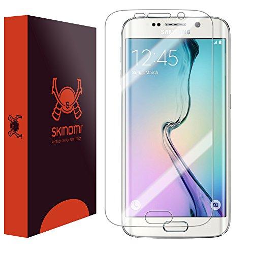 Galaxy S6 Edge Screen Protector, Skinomi TechSkin Full Coverage Screen Protector for Galaxy S6 Edge Clear HD Anti-Bubble Film