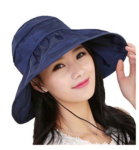 bettertime-fashion-womens-beachwear-sun-hat-striped-straw-hat-floppy-big-brim-hat-navy