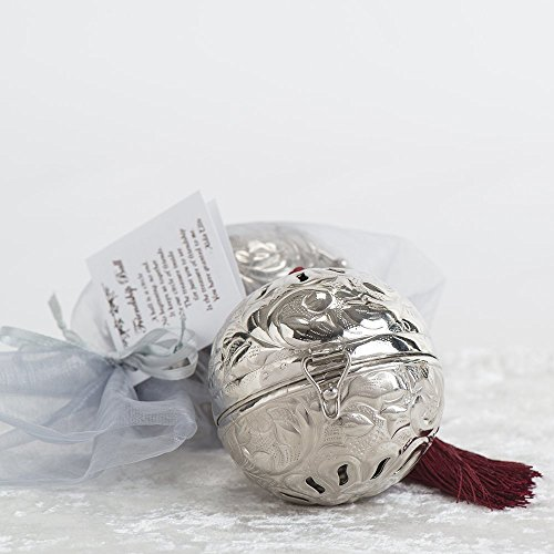 (The Silver Friendship Ball in Shimmering Bag - Our Gift!)