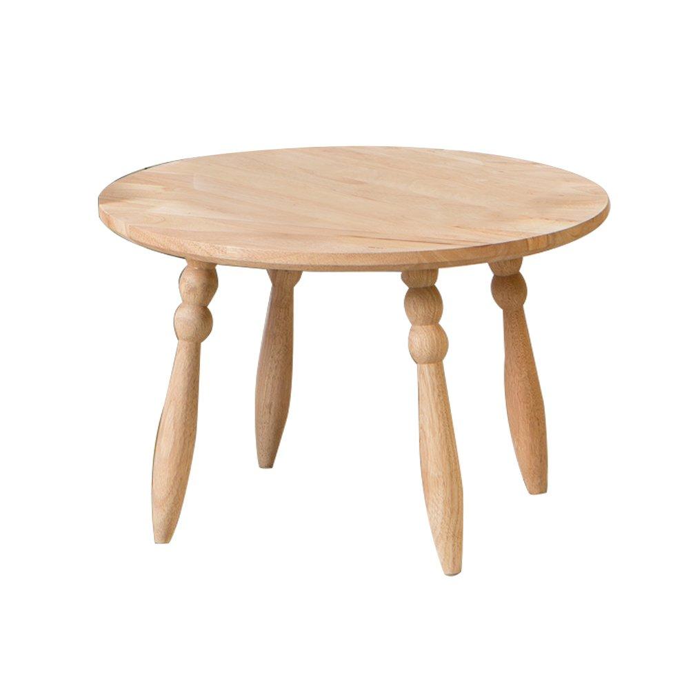 CSQ ソリッドウッドの小さなテーブル、家庭の小さなラウンドテーブルソファテーブルコーナーいくつかのベッドルームのベッドサイドテーブル装飾テーブル子供の研究テーブル (サイズ さいず : 44.5*44.5*38CM) B07F26TGWV44.5*44.5*38CM