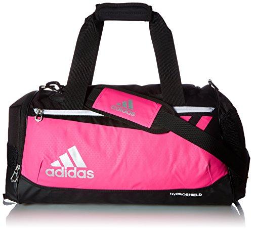 adidas Team Issue Duffel Bag, Shock Pink, Small