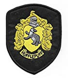 HARRY POTTER HUFFLEPUFF Robe Logo Embroidered PATCH House of Hufflepuff