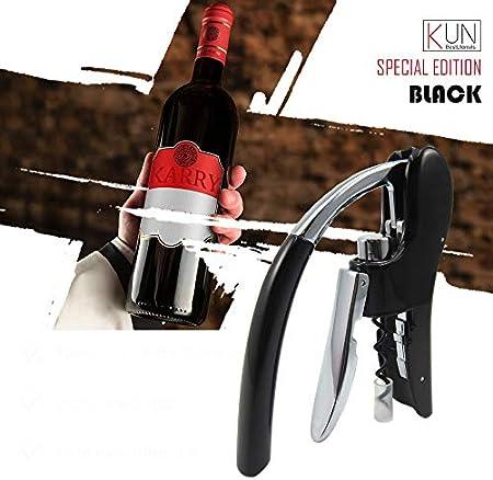 NOBRAND Sacacorchos Profesional De Aleación De Zinc Power Wine Opener Screwpull Sacacorchos Palanca De Conejo Sacacorchos para Vino