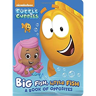 Bubble guppies books do it yourselfore big fish little fish a book of opposites bubble guppies board solutioingenieria Image collections