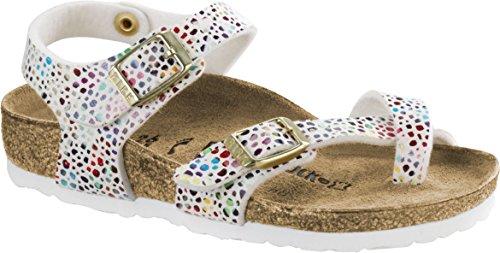 Birkenstock Kids Taormina Sandal Mosaic White Birko Flor Size 26 N EU / 8.5 N US Toddler