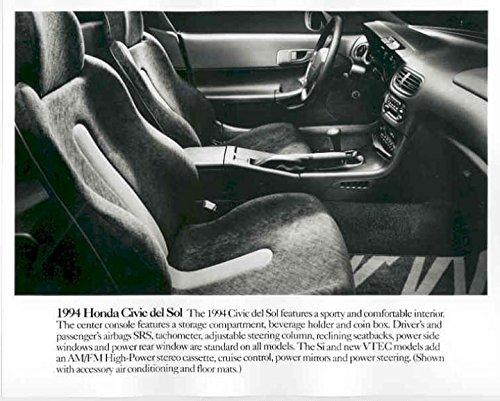 1994 Honda Civic Del Sol Automobile Photo Poster