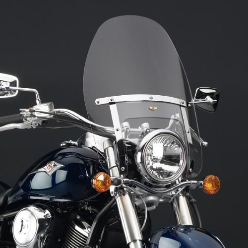 National Cycle N2220 Heavy Duty Custom Clear Windshield for Harley Davidson Nar - Iron 883 Windshield