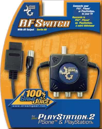 Amazon com: RF SWITCH PS2 PSX WITH AV OUTPUT: Video Games
