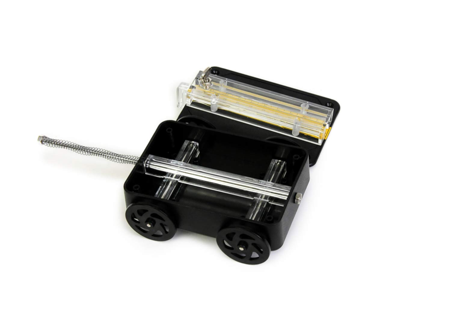7 Length x 3 Width x 2 Height American Educational Impact Car with Spring Scale